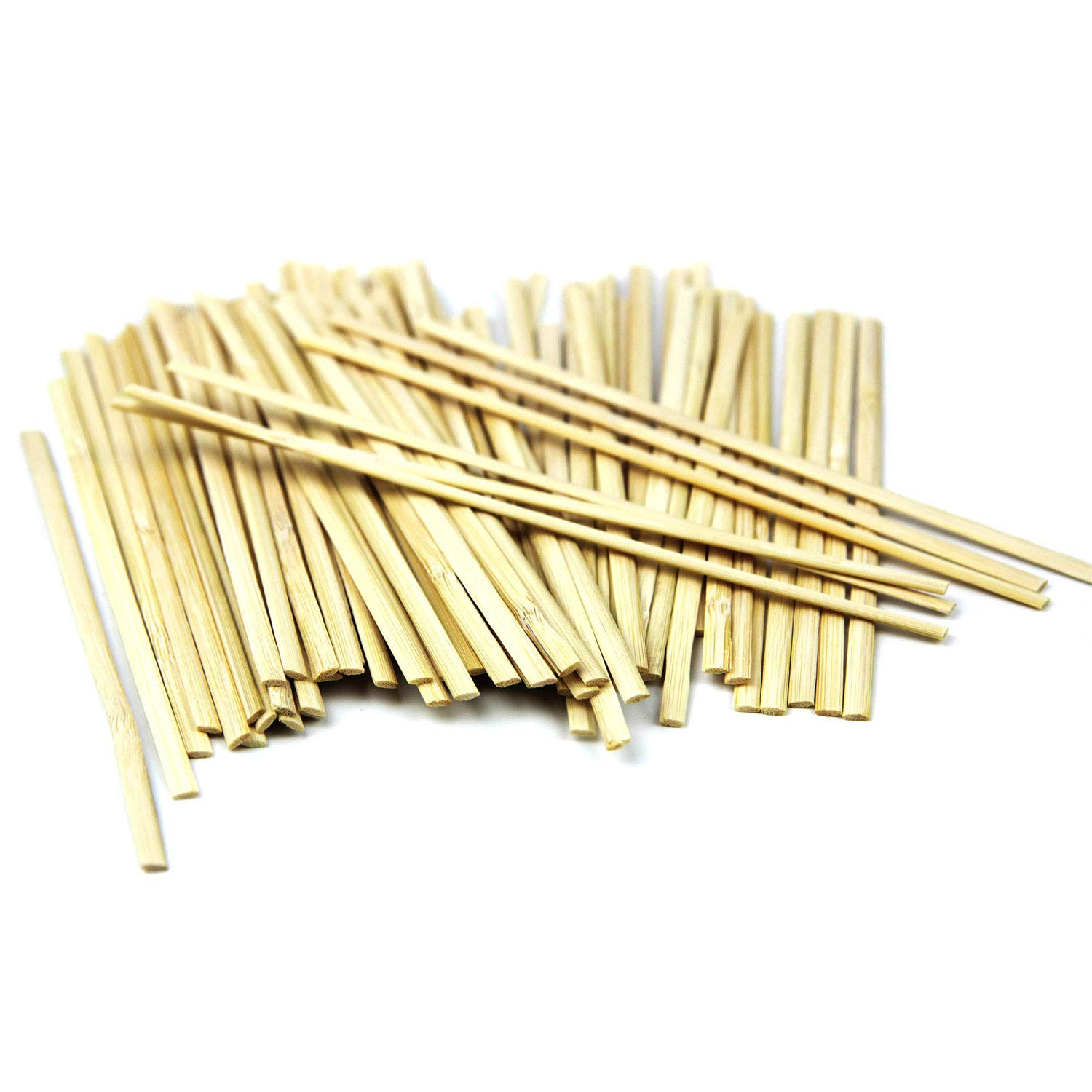 7'' Bamboo Wood Coffee Stir Sticks, Disposable Wooden Tea Drink Cocktail Mix Stirrers, Compostable Eco Friendly For Hot Cold Beverages - 1000 Pack