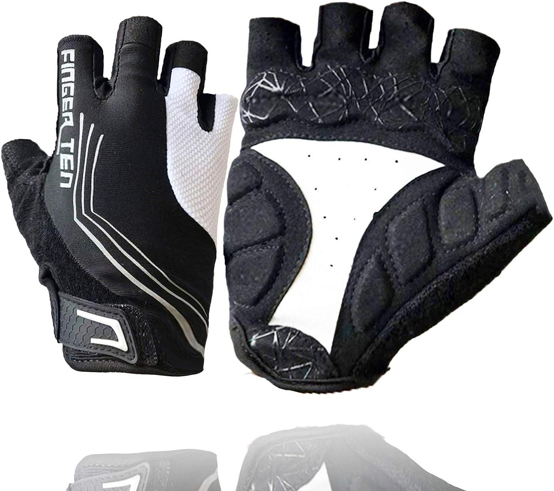Sport Cycling Gloves Half Finger Special Design For Bike Motorcycle Finger Ten