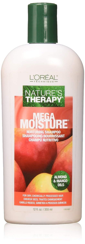 Loreal Natures Therapy Shampoo Mega Moisture 12 Ounce (354ml)