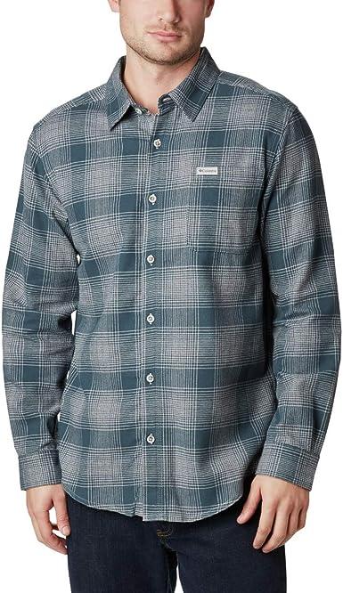 Columbia Camisa de Franela de Manga Larga para Hombre Boulder Ridge™ de Manga Larga para Hombre Boulder RidgeTM