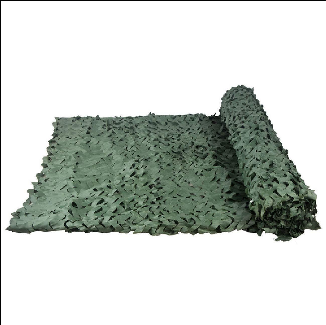 Qwertyi Tarnnetz, Anti-Flugzeug Reine grüne Single-Cut-Blaume Camouflage-Tarnnetz Single-Layer-Schatten-Netz-Outdoor-Fotografie Vogelbeobachtung Indoor-Dekoration Netto Verschiedenen Größen optional