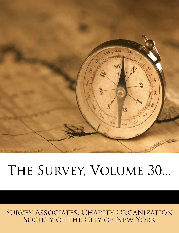 Download The Survey, Volume 30... ebook