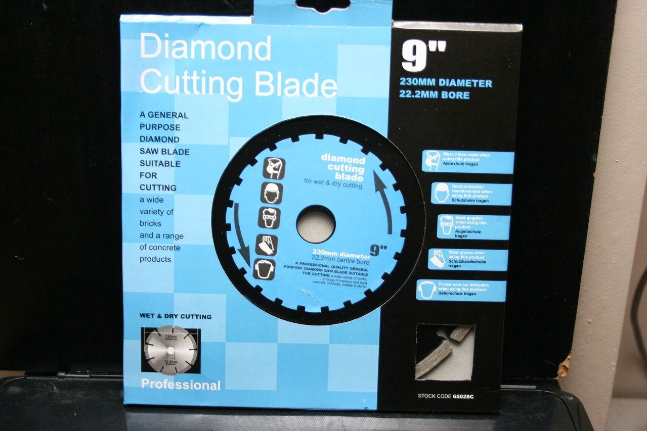 DIAMOND CUTTING DISC BLADES 4 BRICK STONE 305mm 12' Marksman