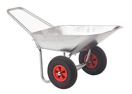 Ravendo A8800007 - Carretilla de jardín con 2 ruedas (sin montar): Amazon.es: Industria, empresas y ciencia