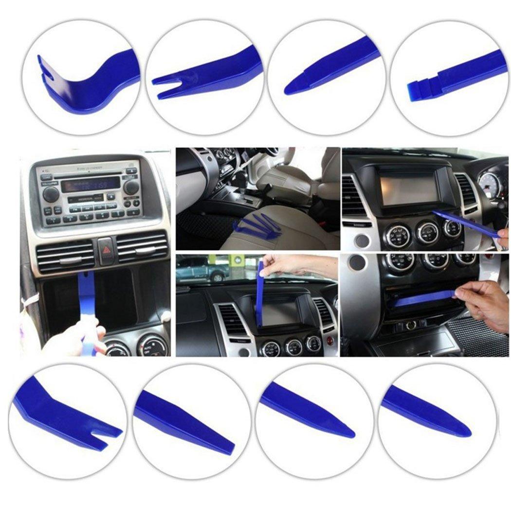 TTAM 8pcs Multi Use Auto Car Panel Fastener Remover and Interior Dash Radio Door Trim Clip Open Removal Pry Tools Set DIY Car Repair by TTAM (Image #4)
