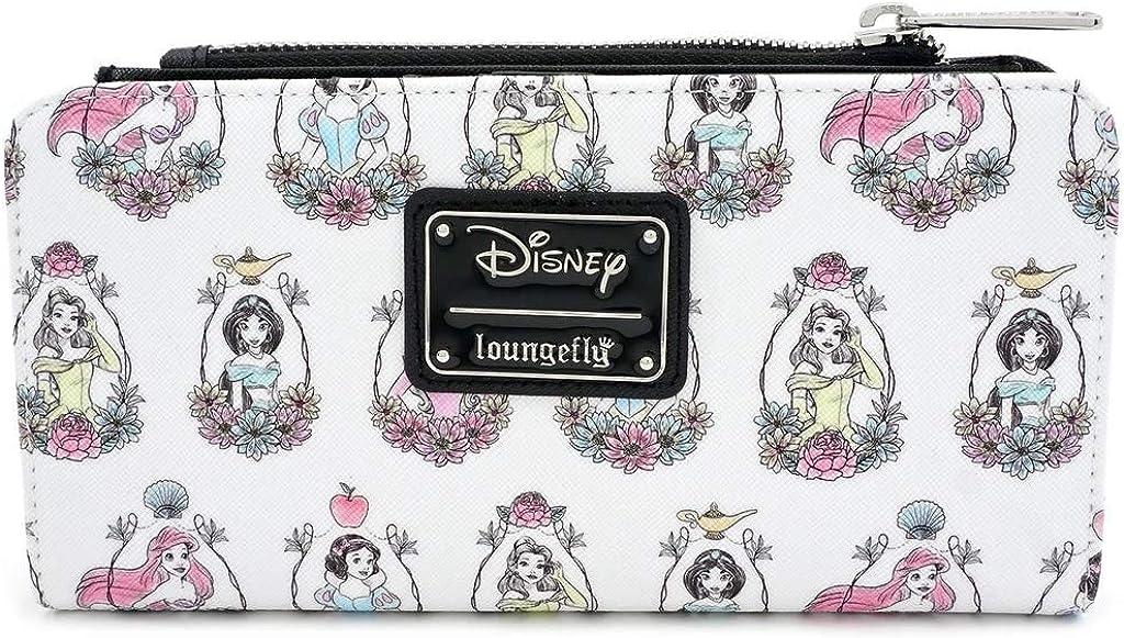 Loungefly x Disney Princess Portraits Allover-Print Wallet