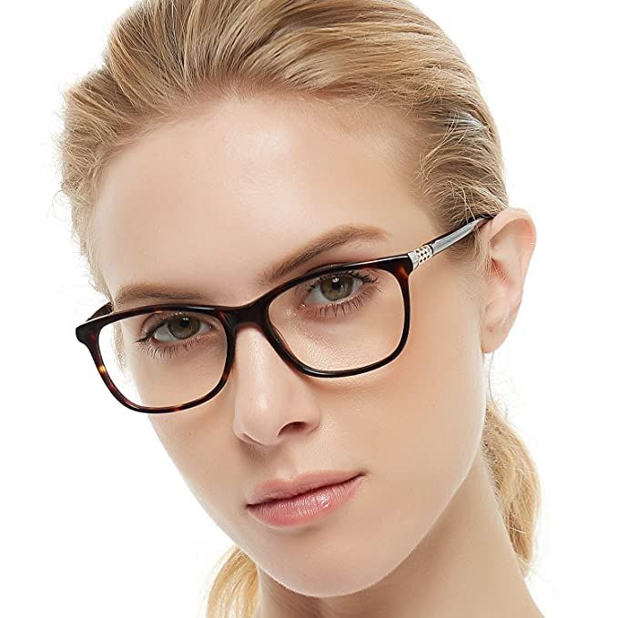 1121b0537c0 OCCI CHIARI Shining Fashion Acetate Optical Frame Non-Prescription Clear  Eyeglasses 50-17-