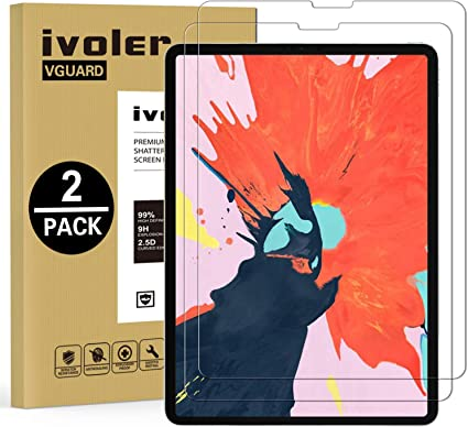 iPad Pro 11 Screen Protector Face ID MultiTouch Tempered Glass Bubble Free