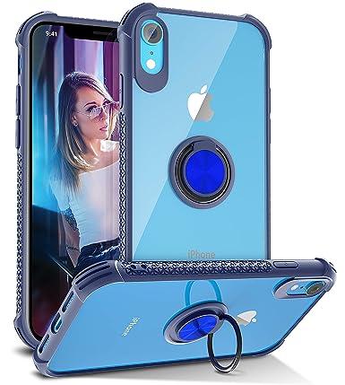 Amazon.com: Daupin - Carcasa para iPhone Xr con anillo ...