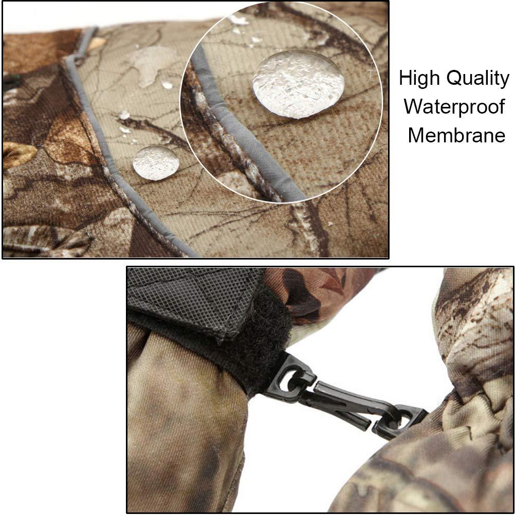 Aoneky Guanti uomo inverno Outdoor impermeabile per caccia pesca mountain magazzino camo 1/coppia