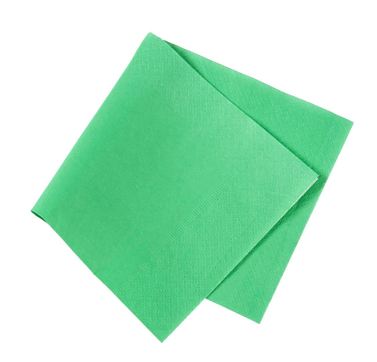 Cocktail Napkins - 200-Pack Disposable Paper Napkins, 2-Ply, Kelly Green, 5 x 5 Inches Folded by Blue Panda (Image #7)
