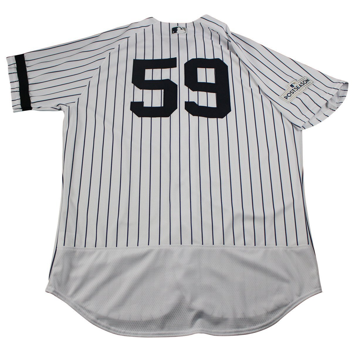3b709d1bf Rob Thomson New York Yankees Game Used  59 Pinstripe Jersey (10 1 2017)(JC009696)  at Amazon s Sports Collectibles Store