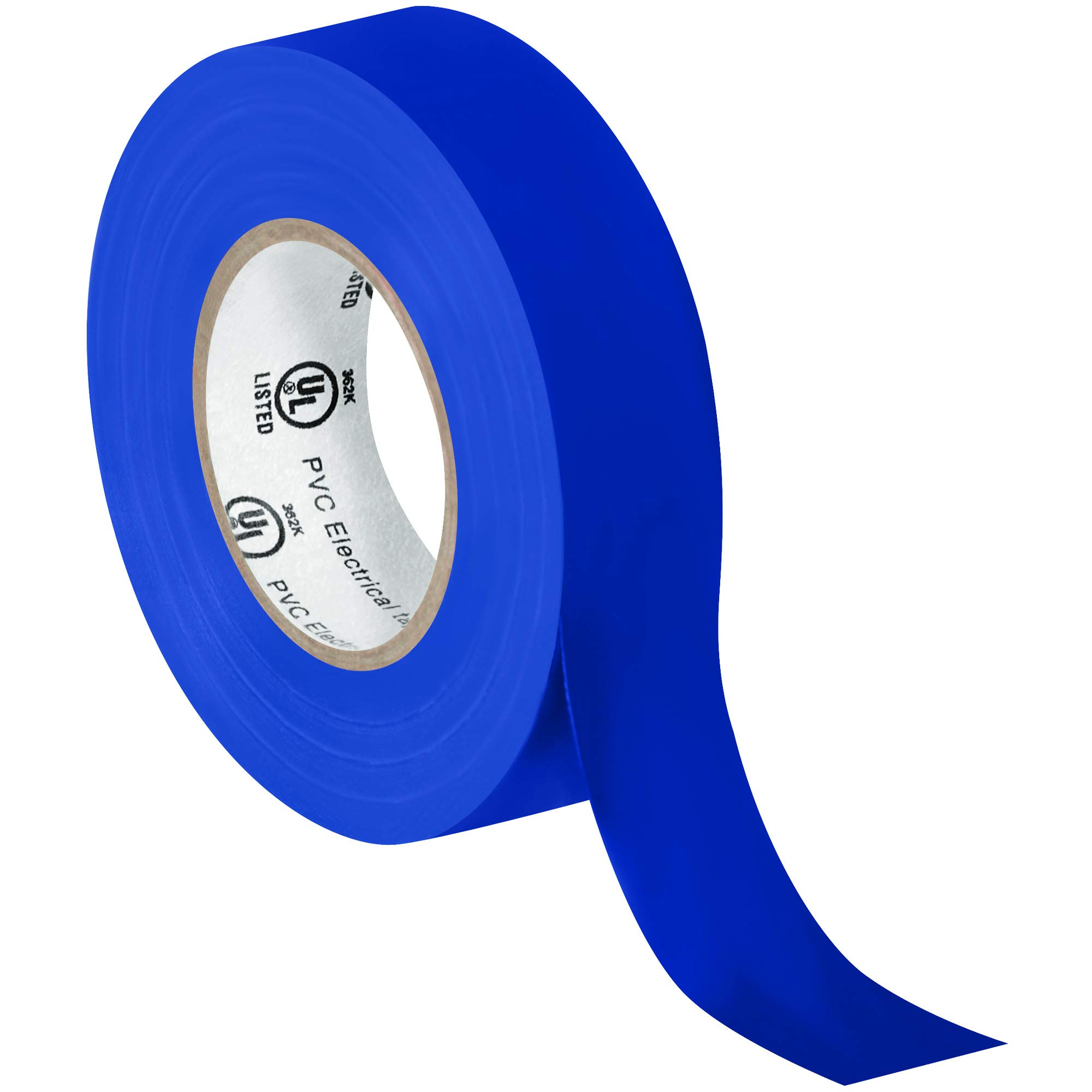 Electrical Tape, 7.0 Mil, 3/4''x 20 yds, Blue, 200/Case
