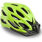Shinmax Bike Helmet,Bicycle Helmet Adjustable Size Ultralight Adult Cycling Helmet with Visor&Rear Light &Portable…