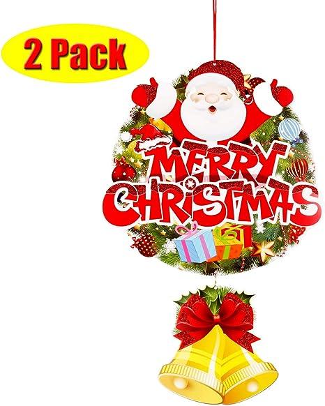 Santa Claus Christmas Door HangerMerry ChristmasHappy Holidays