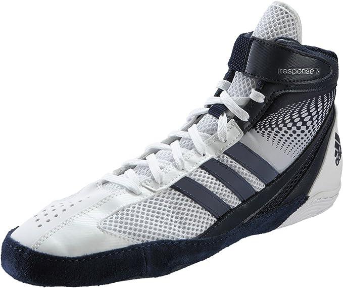 adidas response 3.1 Boxing Shoes WhiteNavy 8: Amazon.co