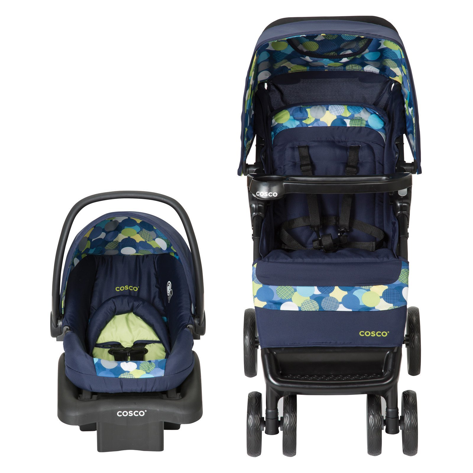 Cosco Simple Fold Travel System with Light and Comfy 22 ...