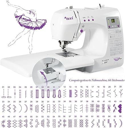 Máquina de coser con brazo libre TEXI tutú ordenador de trabajo ...