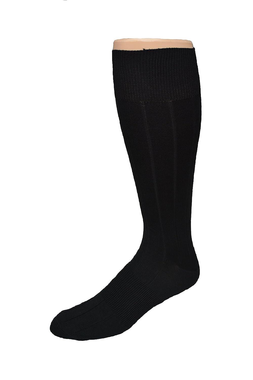 Mens Big /& Tall Mercerized Cotton Premium Dress Sock Made in USA 198
