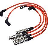 Juego de cables de bujía de encendido STD 57041 7558 09487 para VWS Beetle Golf Jetta 2.0L 1998 1999 2000 2001 2.0L L4…