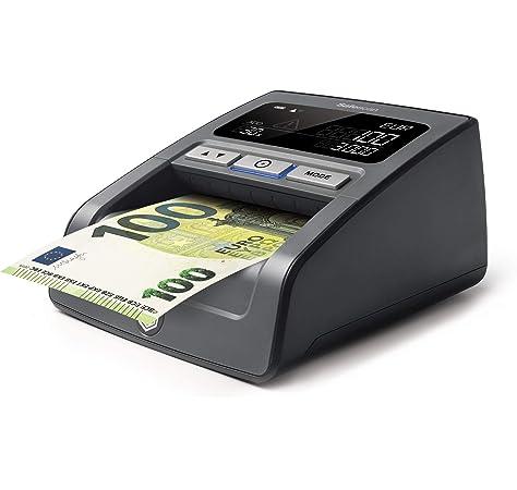 Detectalia D7X - Detector automático de billetes falsos con cable de actualización, 100% detección y listo para los nuevos billetes - 14 x 12 x 6 cm: Amazon.es: Oficina y papelería