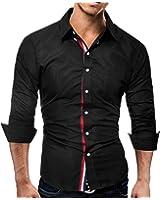 Special Beauty Handsome,Slim Fashion Male Shirt Long-Sleeves Tops Color Casual Mens Dress Shirts Slim Men Shirt 3XL Cool
