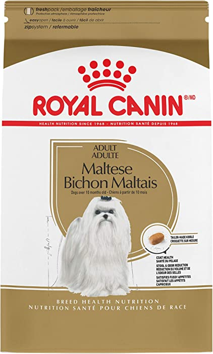 Royal Canin Maltese Adult Breed Specific Dry Dog Food, 2.5 lb. bag
