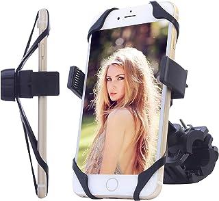 TAKSON Bike Motorrad Handy Halterung Fahrrad Lenker Halterung Halter Wiege 360 ° Drehbar Universal für Handy GPS, iPhone 7/7 Plus 6/6S/6Plus SE 5S 5 C Galaxy Note5 4 S7 S6 S5 HTC, LG, MP3-Player