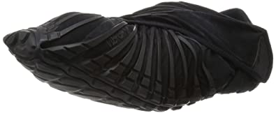 Vibram FiveFingers Unisex Furoshiki Black Sneaker XS: 36-37 (US Womens 6 - 6.5) Medium