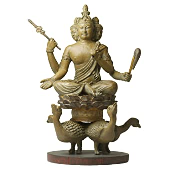 Amazon | 【ミニチュア仏像】梵...