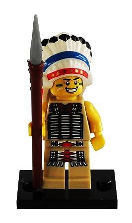Lego ColeccionableJefe es Minifigures 8803 IndioAmazon Figura fgIvYb76y