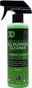 3D All Purpose Cleaner | Safe, Biodegradable Degreaser | Environmentally Friendly Car Care | Removes Spots, Dirt, Grime & Grease Stains | Made in USA | All Natural | No Harmful Chemicals (16 oz.)