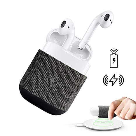 online store 2b16c bf2c7 Uervoton AirPods Case Cover Wireless Charging Case Accessories Protective  Case for AirPods Wireless Charging, Compatible Any Qi Standard Wireless ...