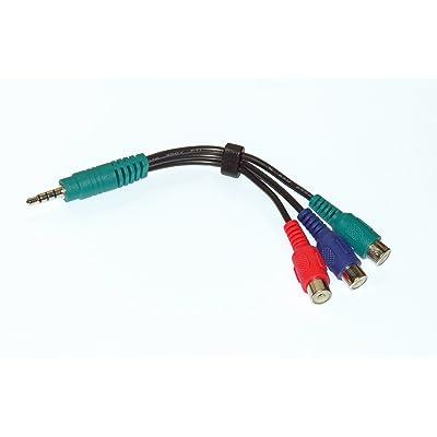 Nueva OEM Adaptador de Cable de Audio y Video AV LG originalmente enviado con 47LE5500-UA, 47LE8500