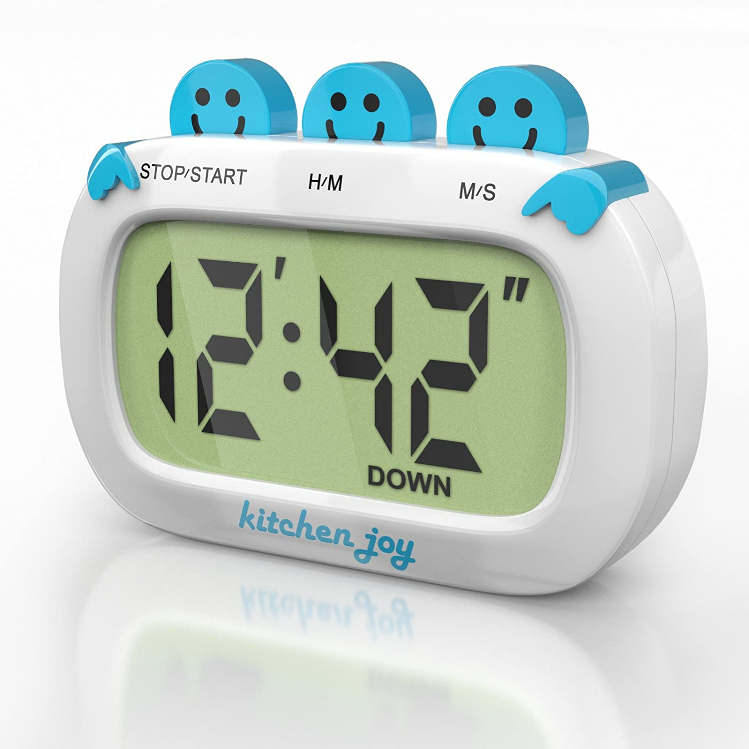 digital kitchen timer kitchen joy with clock and loud