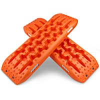 X-Bull Recovery Tracks Traction Boards 4WD Off Road Sand Mud Snow Track Tyre Ladder Orange