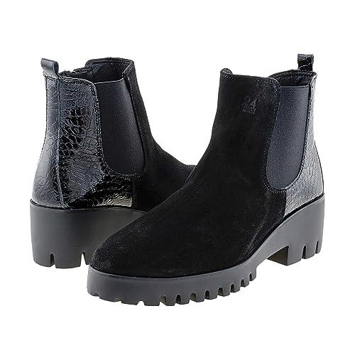 Botines 23852 Piel 24 Horas Talla: 40 Color: Negro: Amazon.es: Zapatos y complementos