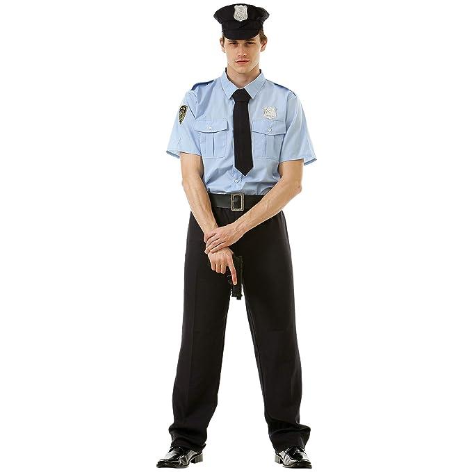 Amazon.com: Good Cop - Disfraz de Halloween para hombre ...