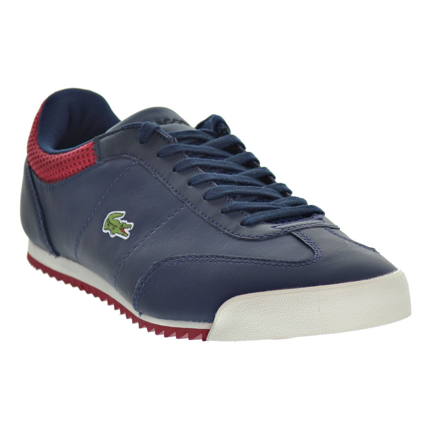 Lacoste Romeau 316 1 SPM Mens Shoes Navy//Red//White 7-32spm0036-003