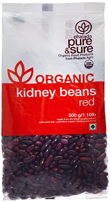 Pure Sure Organic Rajma Kidney Beans 500g Amazon In Grocery Gourmet Foods