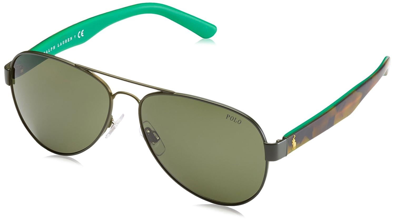 Amazon.com: Polo – Gafas de sol PH 3096 900571 Camo Verde: Shoes