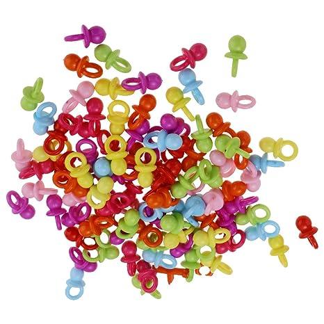 Sharplace 100pcs Mini Chupetes de Ducha de Bebés Ornamento Uso Arte ...