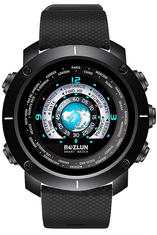 Amazon.com: Smart Watch Color Screen Pedometer Heart Rate ...