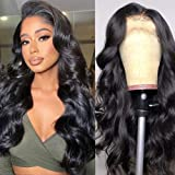 Lace Front Wig Human Hair 18 inch Body Wave Lace Frontal Wigs For Black Woman 13x4 Lace Front Wigs Pre Plucked Hairline with
