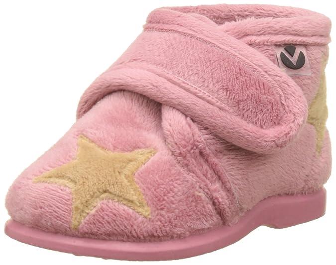 Victoria Star Application De Démarrage, Chaussures Bébé Unisexe Bas, Rose, 18 Eu