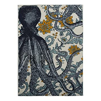 Bathroom Rugs Bath Mats Shower Mats Luxury Bath Mat Nautical Decor Beach  Decor Octopus
