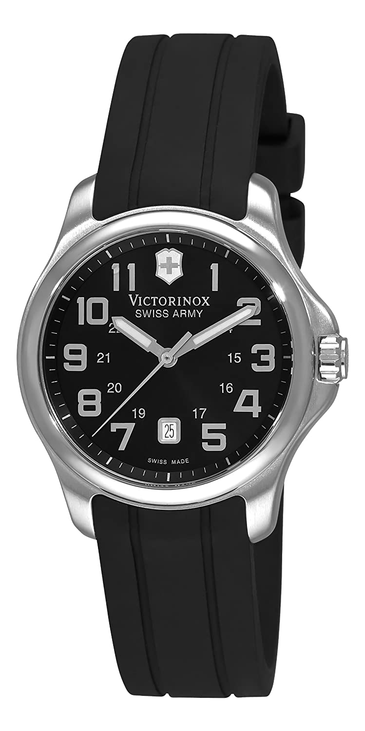 Victorinox Swiss Army Damen 241367 Officer Black Dial Uhr