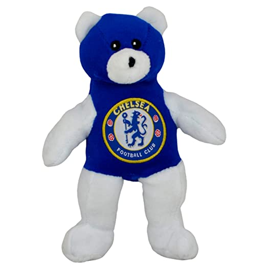 amazon com chelsea fc official soccer crest design plush teddy bear
