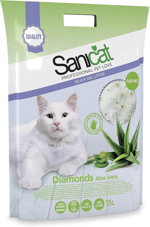 SANICAT Diamonds 15L Aloe Vera