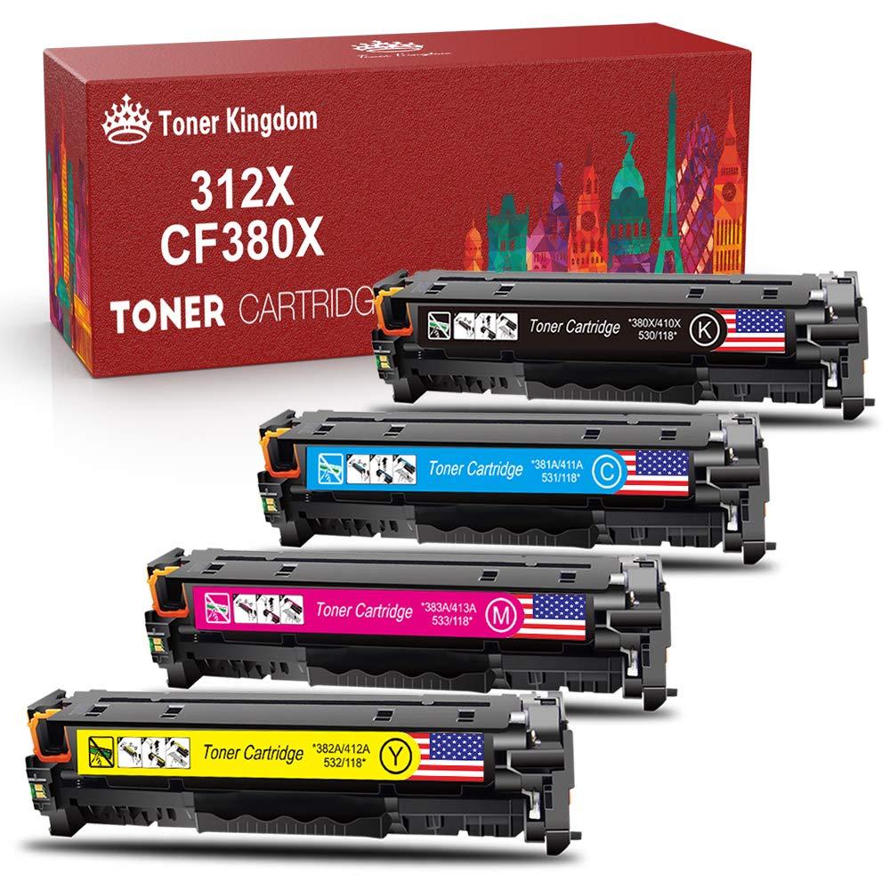 Toner Alternativo ( X4 ) 4 Colores 312A 312X 305A 305X CF...